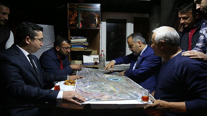 baskan aktas taksicilere ulasim projelerini anlatti