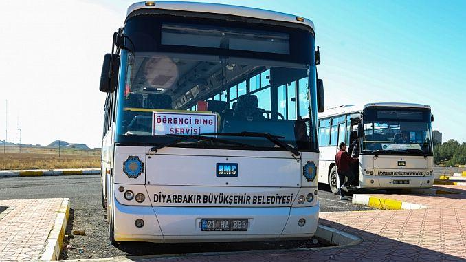 diyarbakirda ogrencilere ucretsiz ring servisi devam ediyor