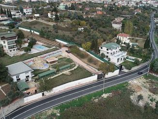 Eskihisar gaden er blevet ødelagt