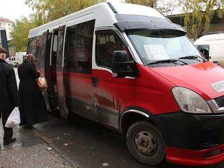 Eskisehir de minibús cambia