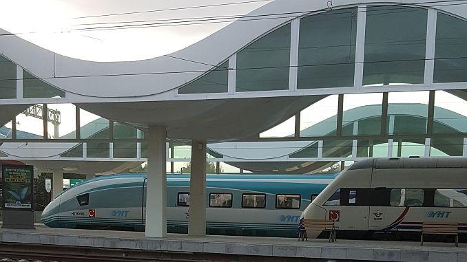 trošak prtljage u brzim vlakovima Eskisehir