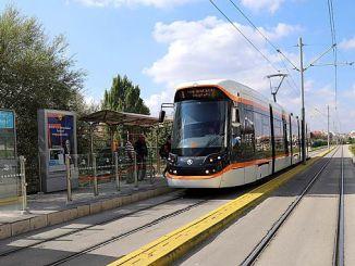 Does New Tram Line Work Stopped in Eskisehir