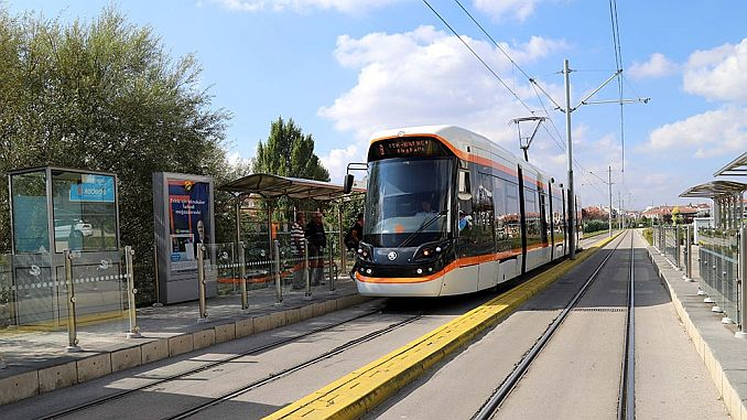 Does New Tram Line Work Stopped in Eskisehir