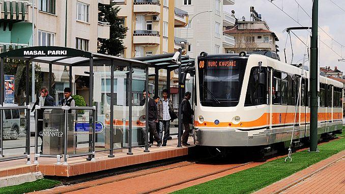 xnumx million passengers move monthly in gaziantepte