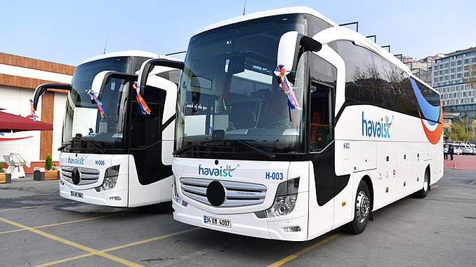 Istanbul introduces air transportation vehicles to new airport