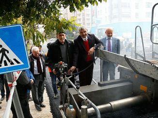 Las obras de asfalto kayseride continúan sin cesar