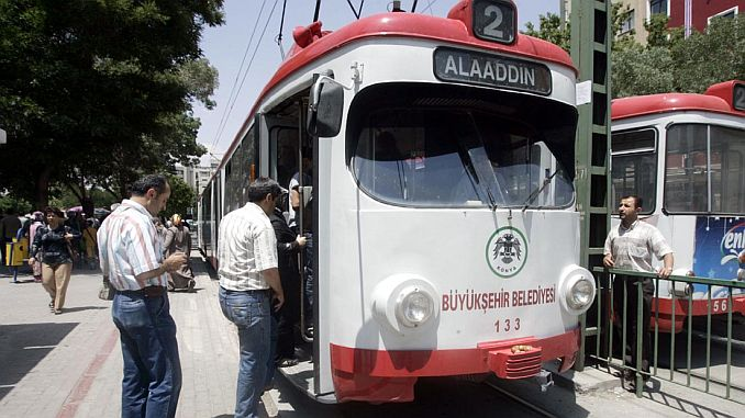 konya's veteran tram will provide contribution to students