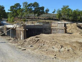 construción de roturas no muíño manavgat