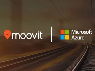 moovit provides public transport data for microsoft azure maps