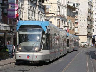 железопътна система и улична количка