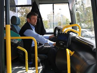 public transport vehicles in Sakarya pass into validator