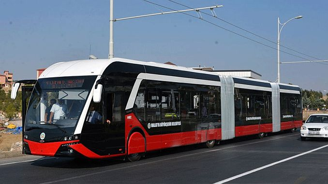 sanliurfada trambus line was not in service