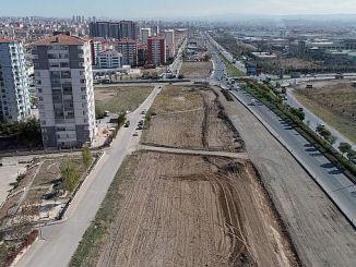 sincan osb yenikent road expansion works night gunduz continues