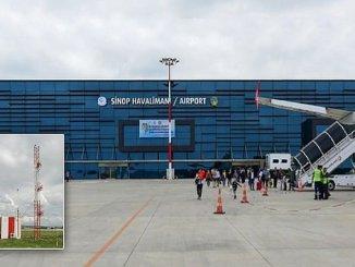 Sinop Airport werd gelanceerd