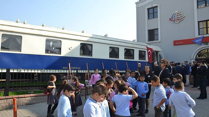 intense interest in the ataturk wagon in the tcdd 3 region