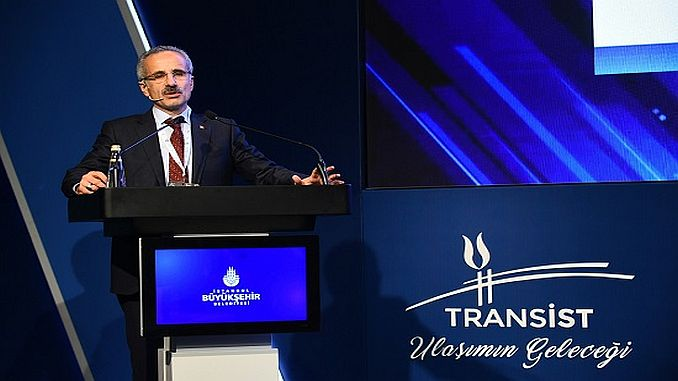 ट्रांजिस्टर 2018 istanbul परिवहन कांग्रेस और मेले का आयोजन किया