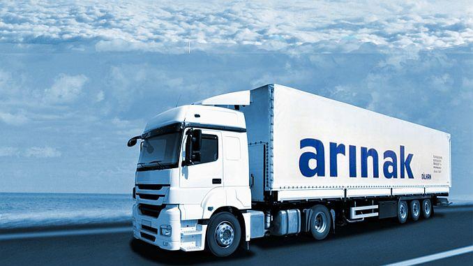 iran turkey between shipping logistics calismalarinda Arina
