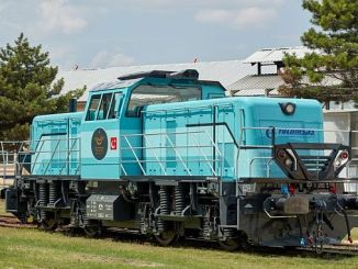 Truthahn Hybrid-Lokomotive war die vierte nationale Dünyada