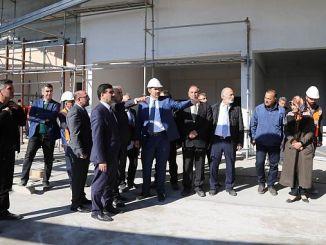 מרכז הסימולציה סקי xnumxunc turkiyenin בבנייה Sivasa