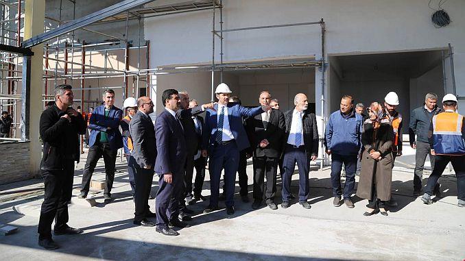 turkiyenin xnumxunc ski simulation center under construction Sivasa