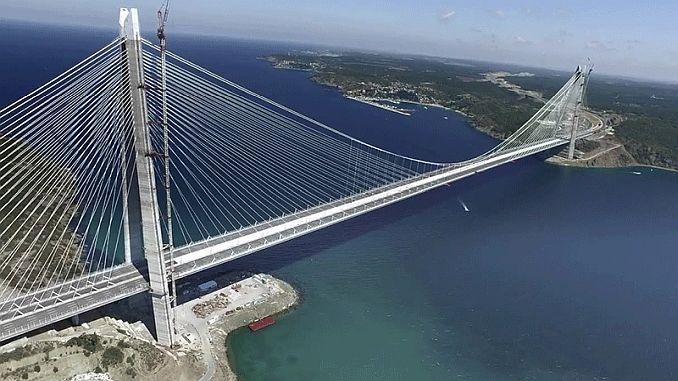 Yavuz Sultan Selim Koprusunde 323 million dollars lost