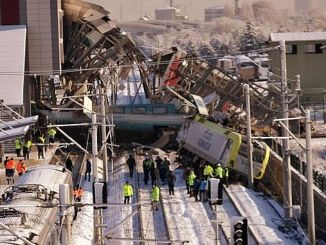16 per year in 1623 railway accidents lost life