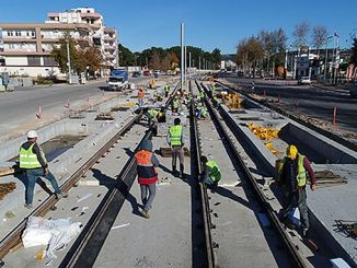 antalya 3 stage rail system line will be put into service