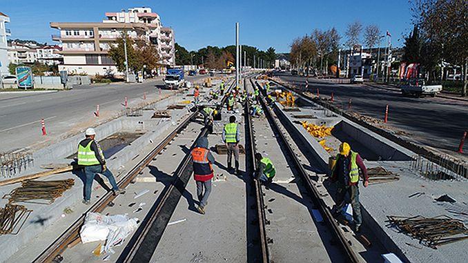 antalya 3 etap rayli sistem hatti subatta hizmete acilacak