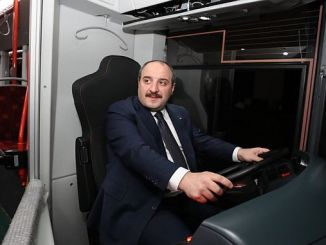 has tested the environment friendly bus produced by varank bozankayan
