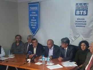 bts और tmmob ट्रेन पर संयुक्त प्रेस विज्ञप्ति