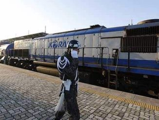 guney and north korean railways connect with each other