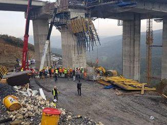 La seguridad laboral de la carretera marmara del norte no vale la pena mencionar los salarios de los trabajadores