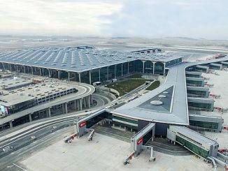 het vervoer naar de luchthaven van Istanbul verloopt geleidelijk