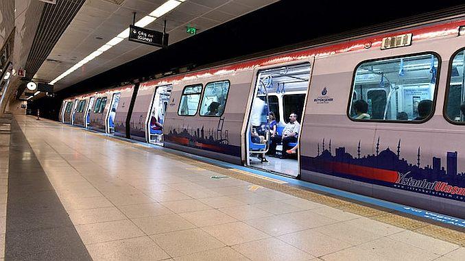 istanbulda metro arizasi giderildi seferler normale dondu
