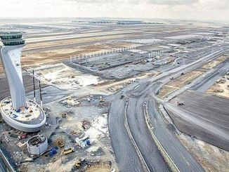 Istanbul's new airport 5 has swallowed a huge forest in a year 1