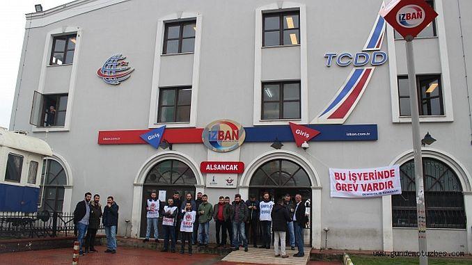 Izban strike a Dumen se congela como si dijera la respuesta de los trabajadores de la patria
