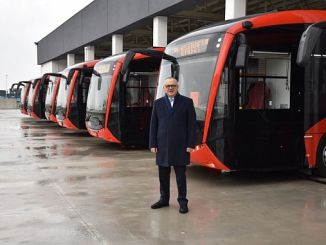 manisalilar will take electric buses in the first months of the new year