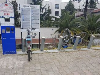 the smart bike in the army has been seen as the magandas