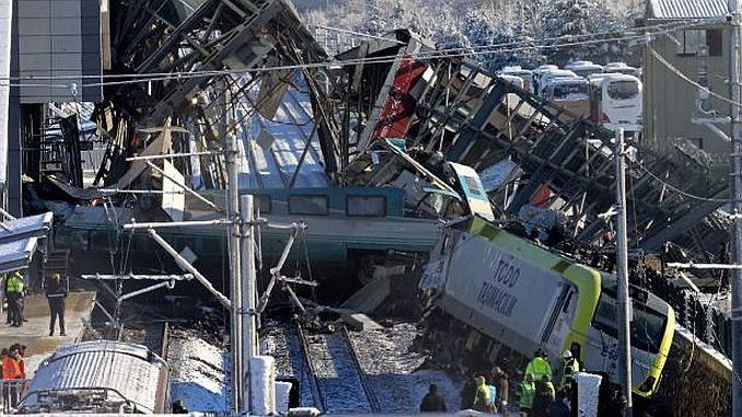 9a подняли в аварии на скоростных поездах в последнюю минуту