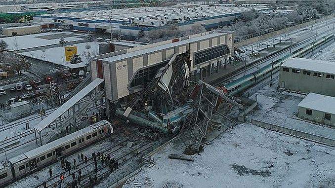 tcdd calisani announces the cause of the train accident in ankara