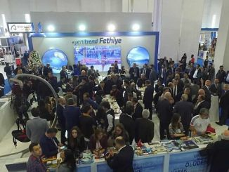 tourism professionals come to travel turkey fethiye stand
