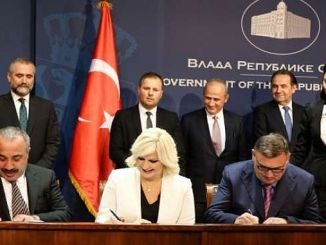 Serbia turkey with the agreement was signed between the motorway construction
