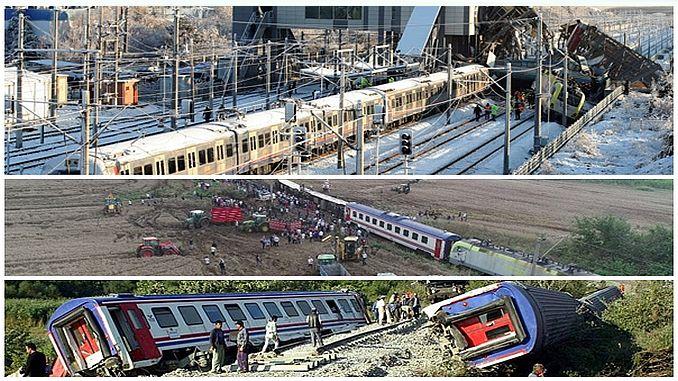 turkiyede son 63 yilda gerceklesen olumlu tren kazalari