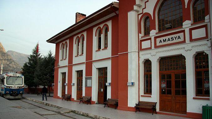 amasya gar будівництво навколишнього середовища і озеленення
