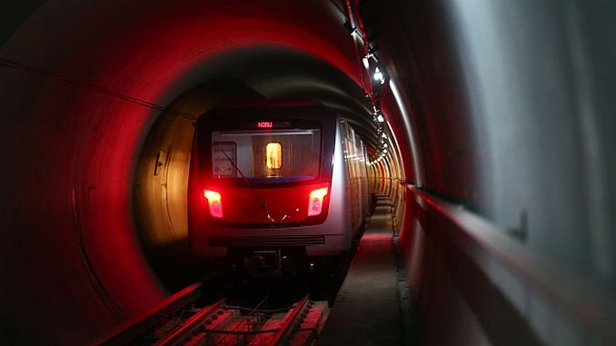 ankara metrosunda tehlikeli anlar