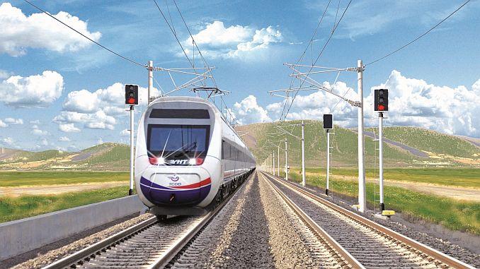 antalyadan Измир высокоскоростных железных дорог