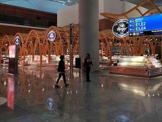 44 bin apron card at ataturk airport 120 bin istanbul airport