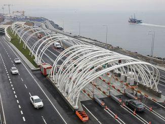 8 1 মিলিয়ন যানবাহন ইউরেশিয়া টানেল ব্যবহার করে না