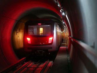 sistema de trenes baskent ankara