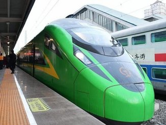 Der Hochgeschwindigkeitszug von cn beginnt in Lanzhou Chongqing 1